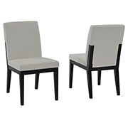 Zephyranth/Suria White 5-Piece Casual Dining Set  alternate image, 7 of 9 images.