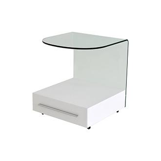 calypso white side table el dorado furniture