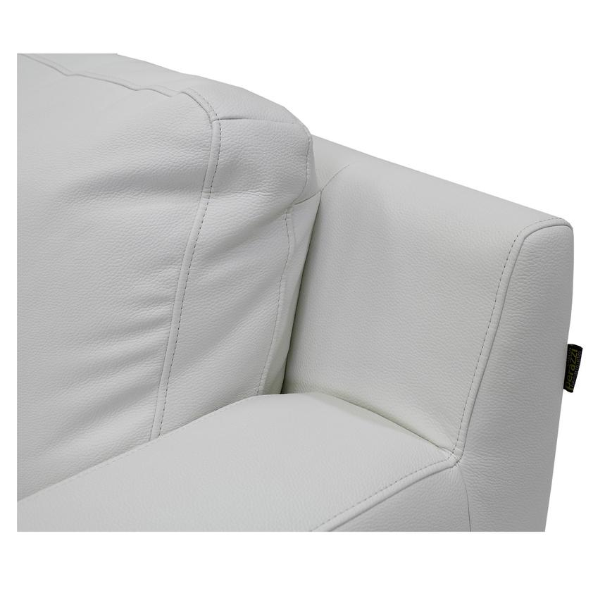 Cantrall White Chair  alternate image, 5 of 7 images.
