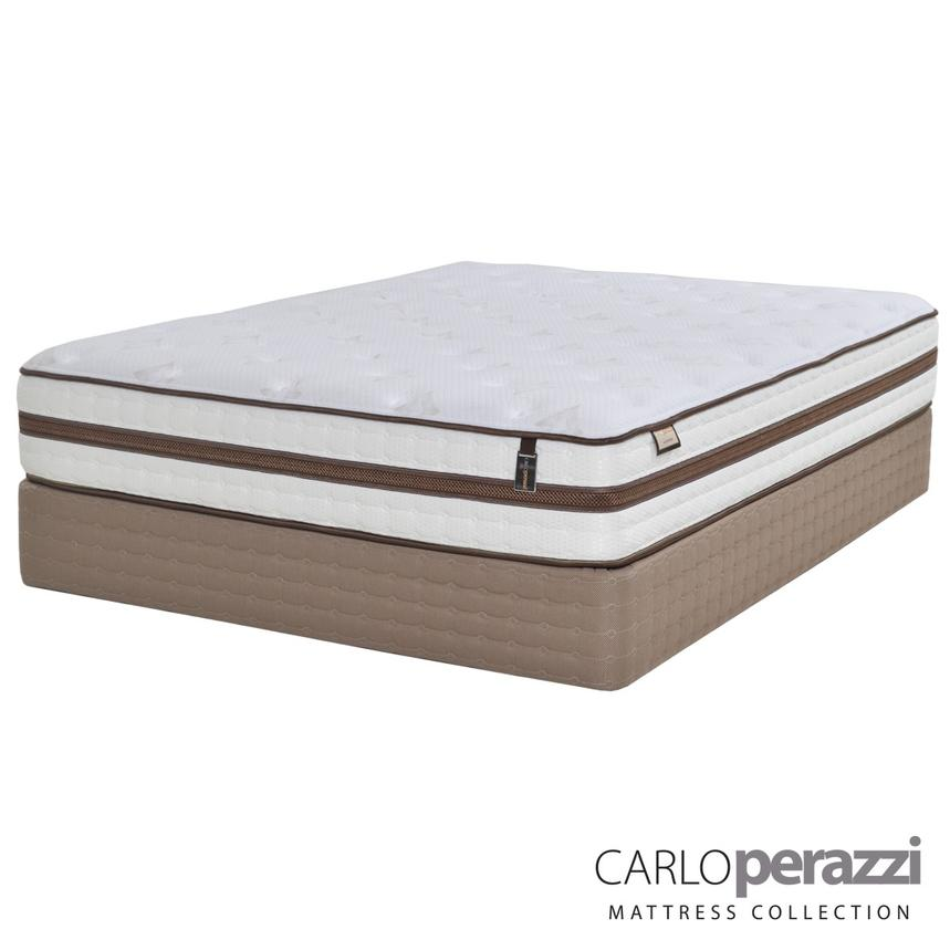Alessandria Twin Mattress Set w/Low Foundation by Carlo Perazzi  main image, 1 of 5 images.