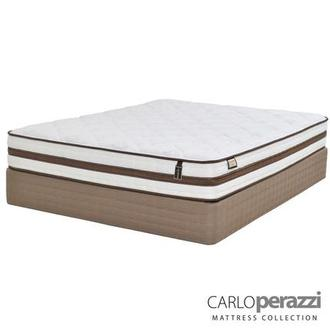 Alessandria Twin XL Mattress Set w/Low Foundation by Carlo Perazzi