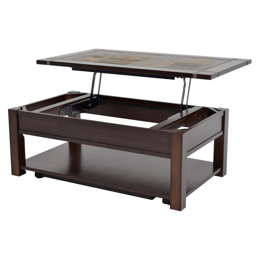 Roanoke Lift Top Coffee Table W Casters Main Image 1 Of 6 Images