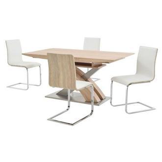 Solimar White Side Chair El Dorado Furniture