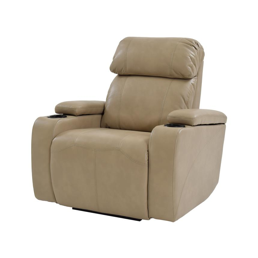 Magnetron Cream Power Motion Recliner  main image, 1 of 7 images.