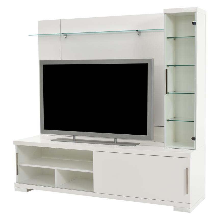 Asti Wall Unit Made in Italy  main image, 1 of 8 images.
