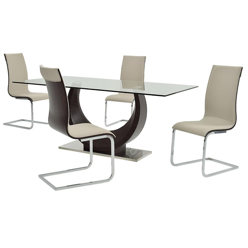 Lunar 5-Piece Formal Dining Set  main image, 1 of 13 images.