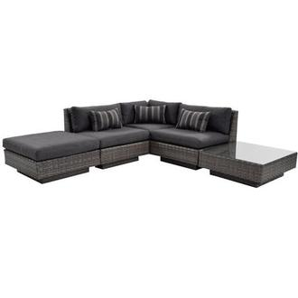Key Largo Sofa w/Ottoman and Table