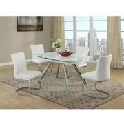 Alina Gray 5-Piece Casual Dining Set  alternate image, 2 of 8 images.