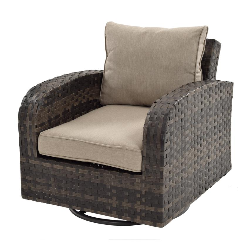 Marco Polo Swivel Accent Chair  main image, 1 of 5 images.