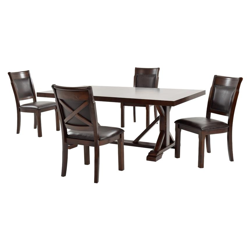Rutsie 5-Piece Casual Dining Set  main image, 1 of 14 images.