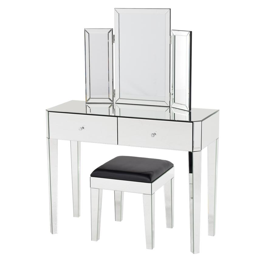 Clea Vanity Desk W Bench El Dorado Furniture