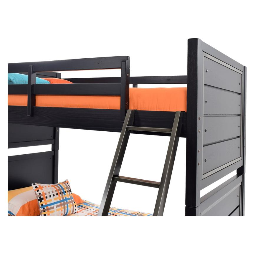 Graphite Twin Over Twin Bunk Bed  alternate image, 5 of 8 images.
