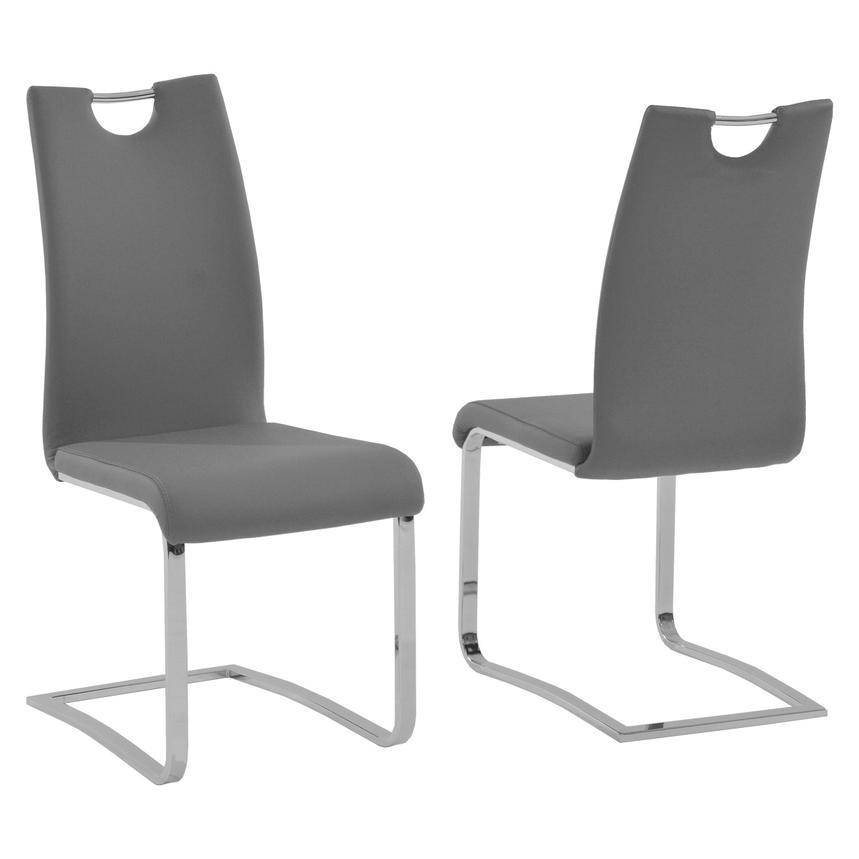 Josseline Gray Side Chair El Dorado Furniture