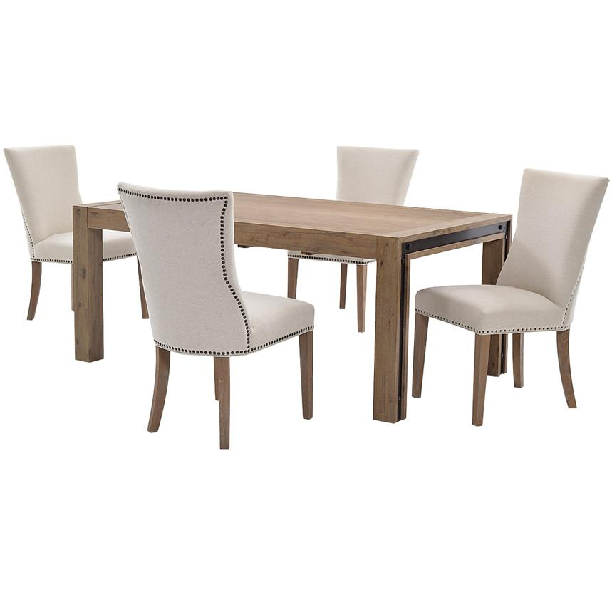 Pinot/Riverdale 5-Piece Formal Dining Set  main image, 1 of 10 images.