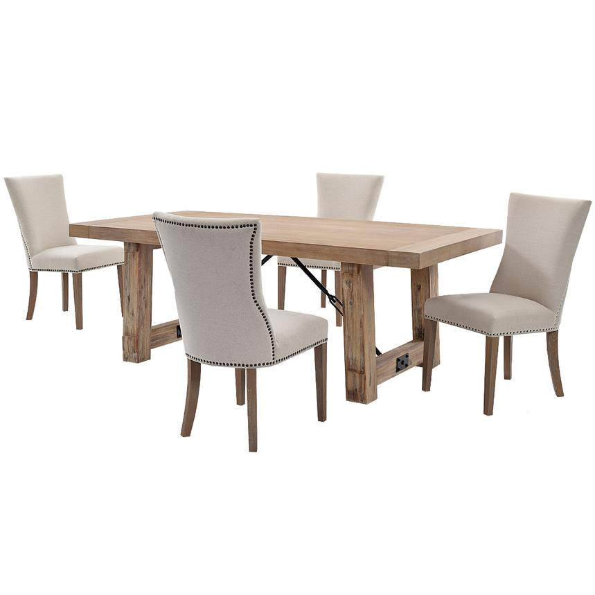 Riverdale 5-Piece Formal Dining Set  main image, 1 of 12 images.