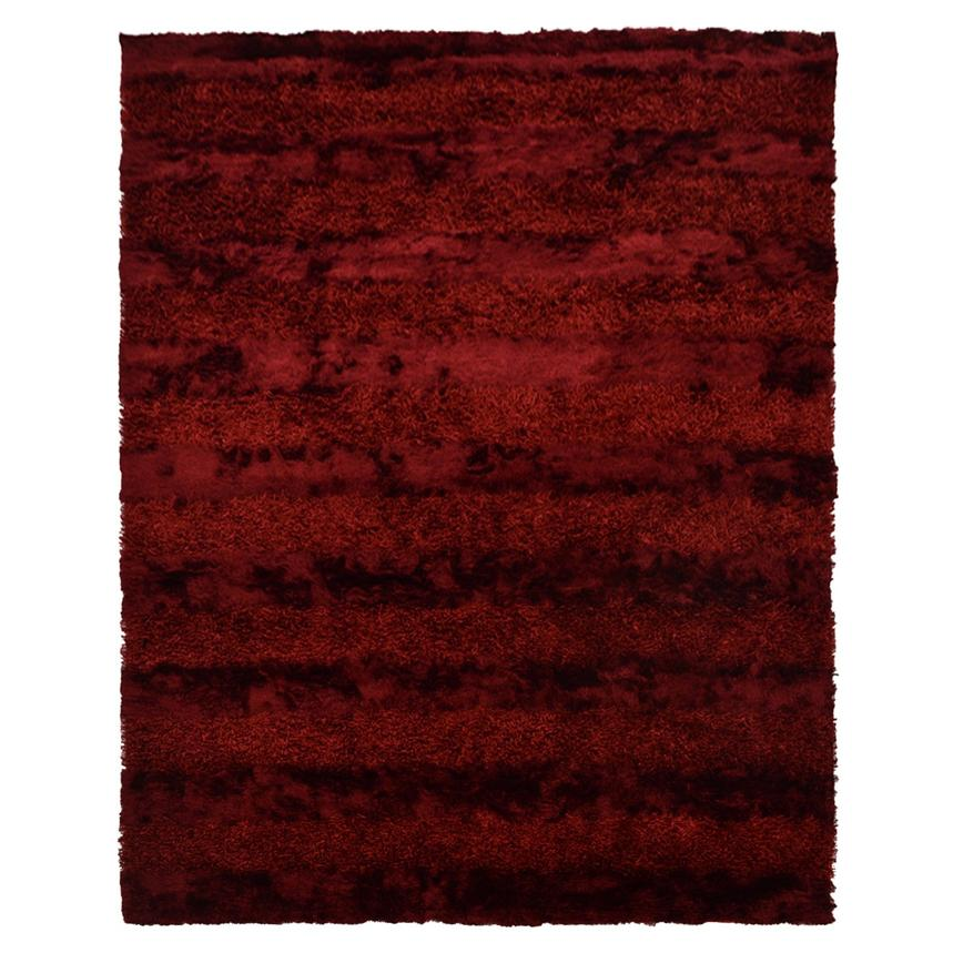 Fusion Red 8' x 11' Area Rug  main image, 1 of 6 images.