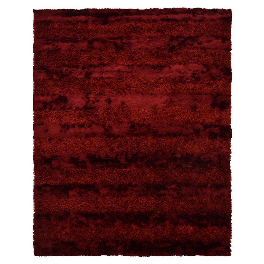 Fusion Red 8 X 11 Area Rug El Dorado Furniture