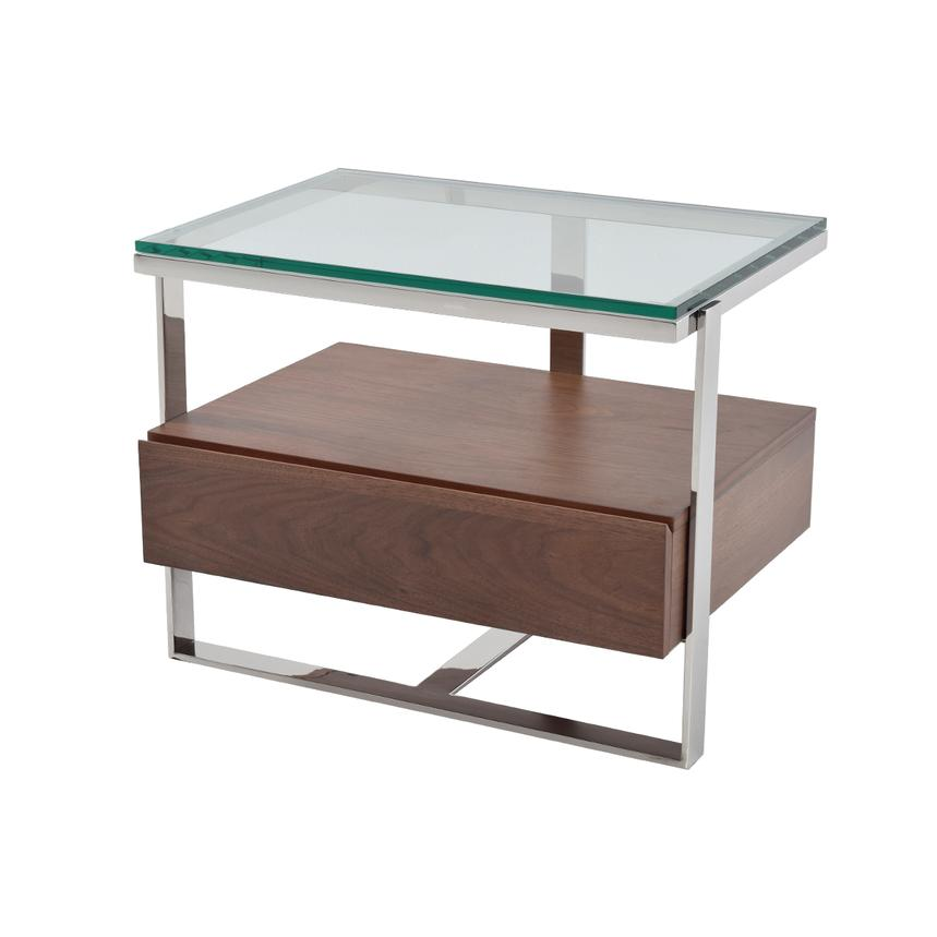 Calypso Walnut Side Table El Dorado Furniture