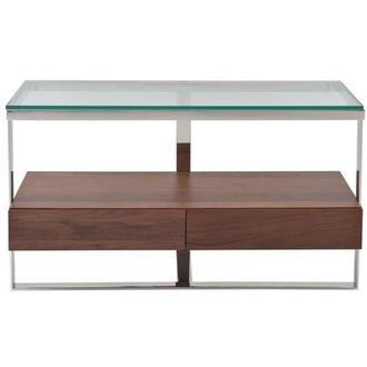 Calypso Walnut Console Table
