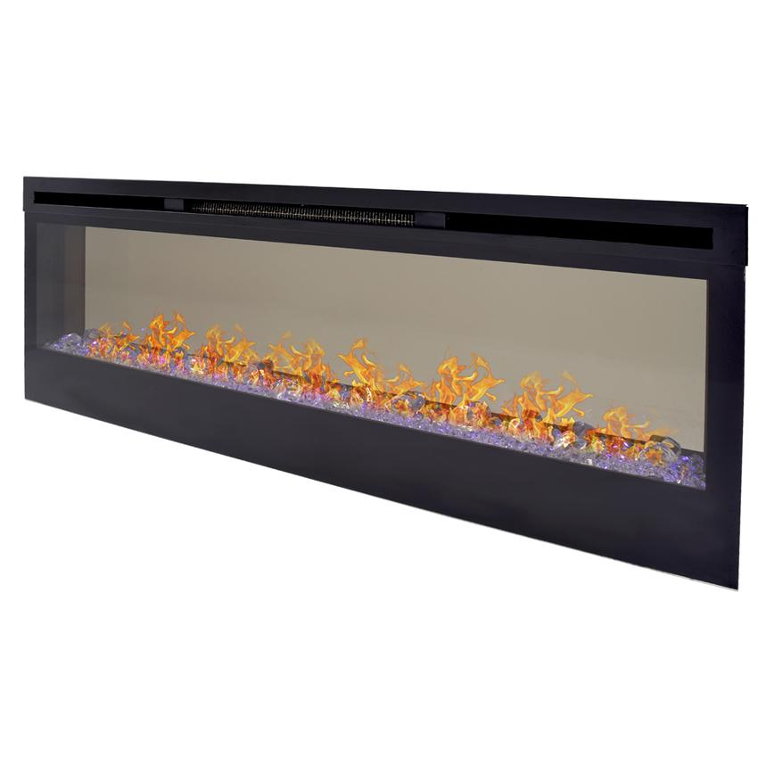 Concord Wall-Hanging Faux Fireplace w/Remote Control  main image, 1 of 9 images.