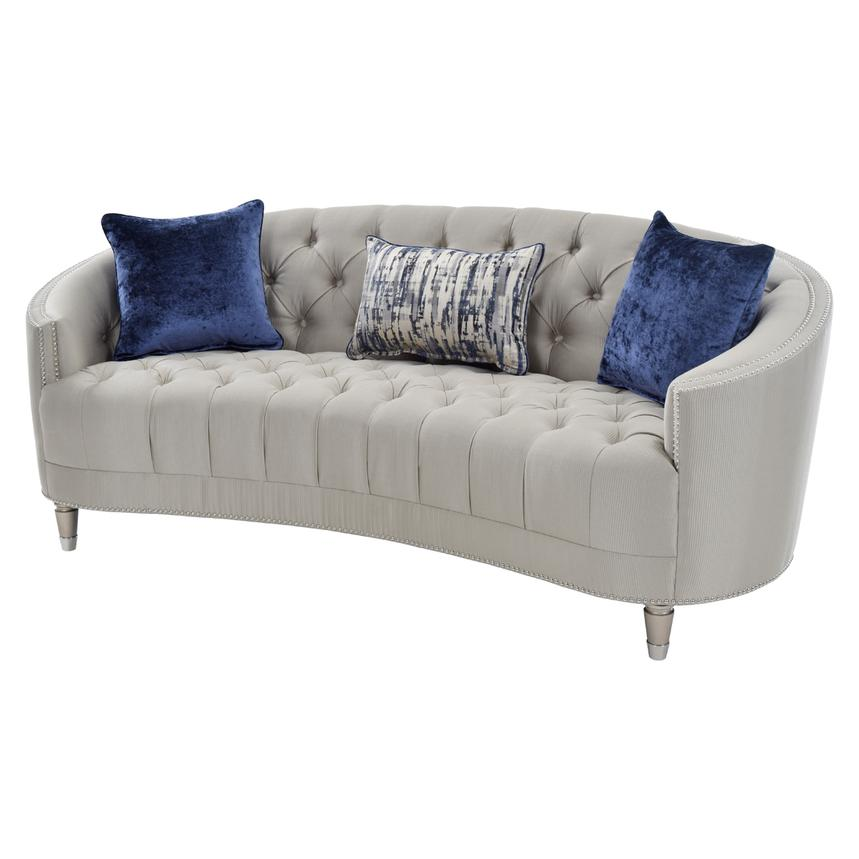 Wonderful Kimberly Silver Sofa Main Image, 1 Of 7 Images.