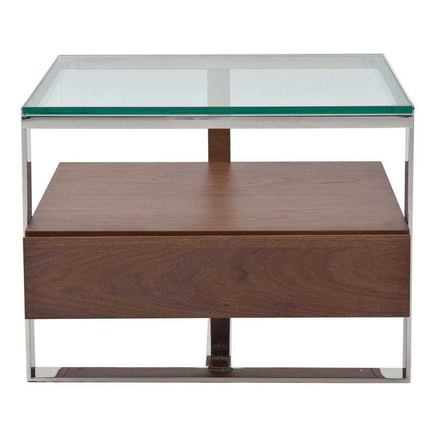 Calypso Walnut Side Table Main Image, 1 Of 6 Images.