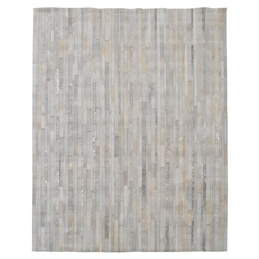 Marsala Cream Cowhide Patchwork 8' x 10' Area Rug  main image, 1 of 4 images.