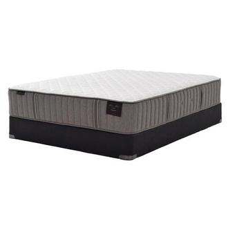 Scarborough III Full Mattress Set w/Low Foundation by Stearns & Foster