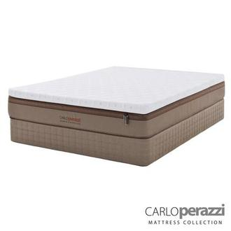 Naples Hybrid Full Mattress Set w/Low Foundation by Carlo Perazzi