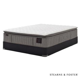 Oak Terrace IV Twin XL Mattress Set w/Low Foundation by Stearns & Foster