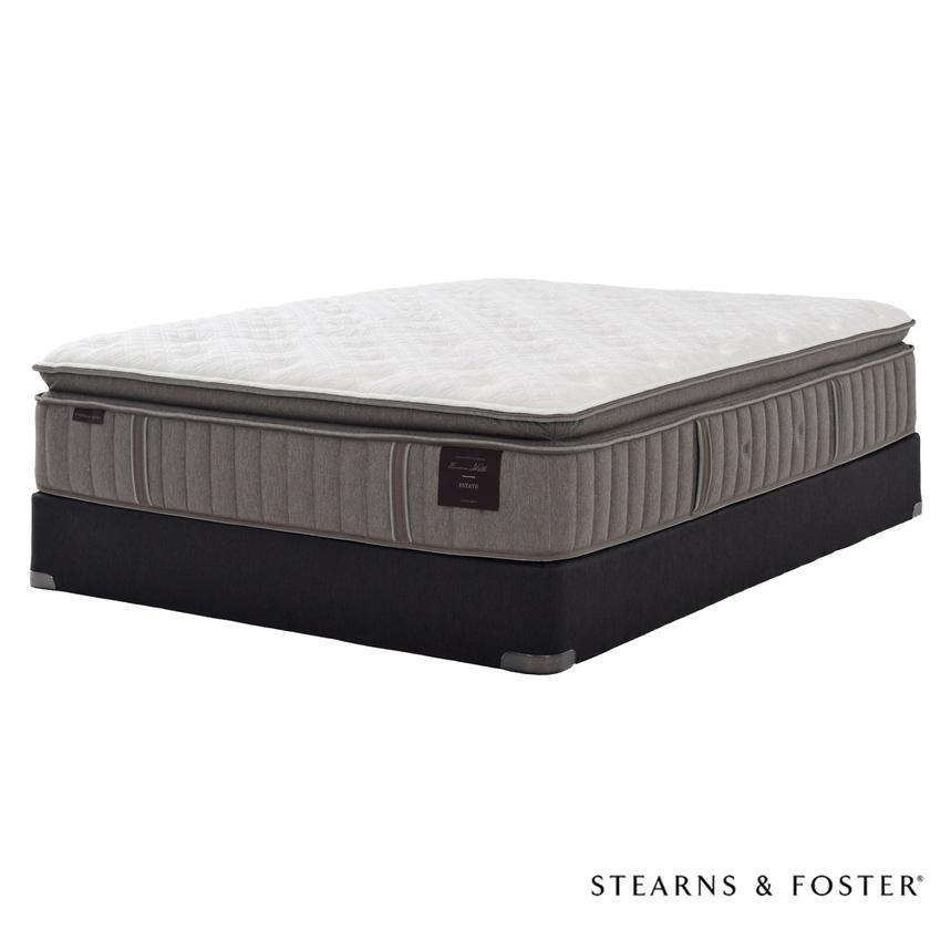Scarborough V Full Mattress Set w/Regular Foundation by Stearns & Foster  main image, 1 of 5 images.