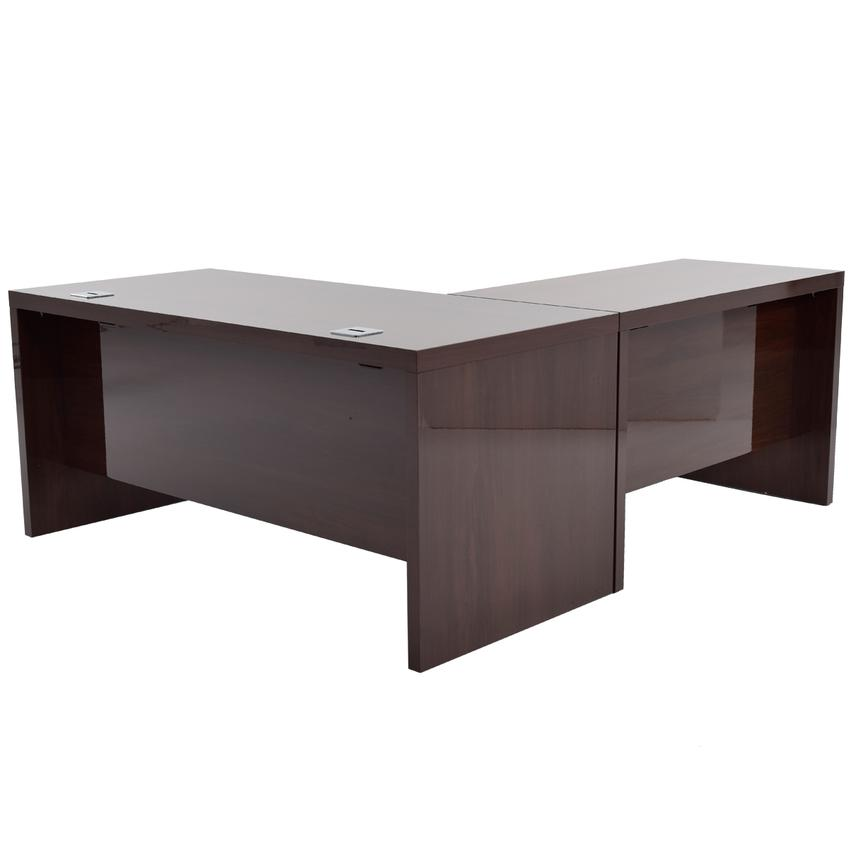 Pisa L Shaped Desk Made In Italy Main Image 1 Of 6 Images