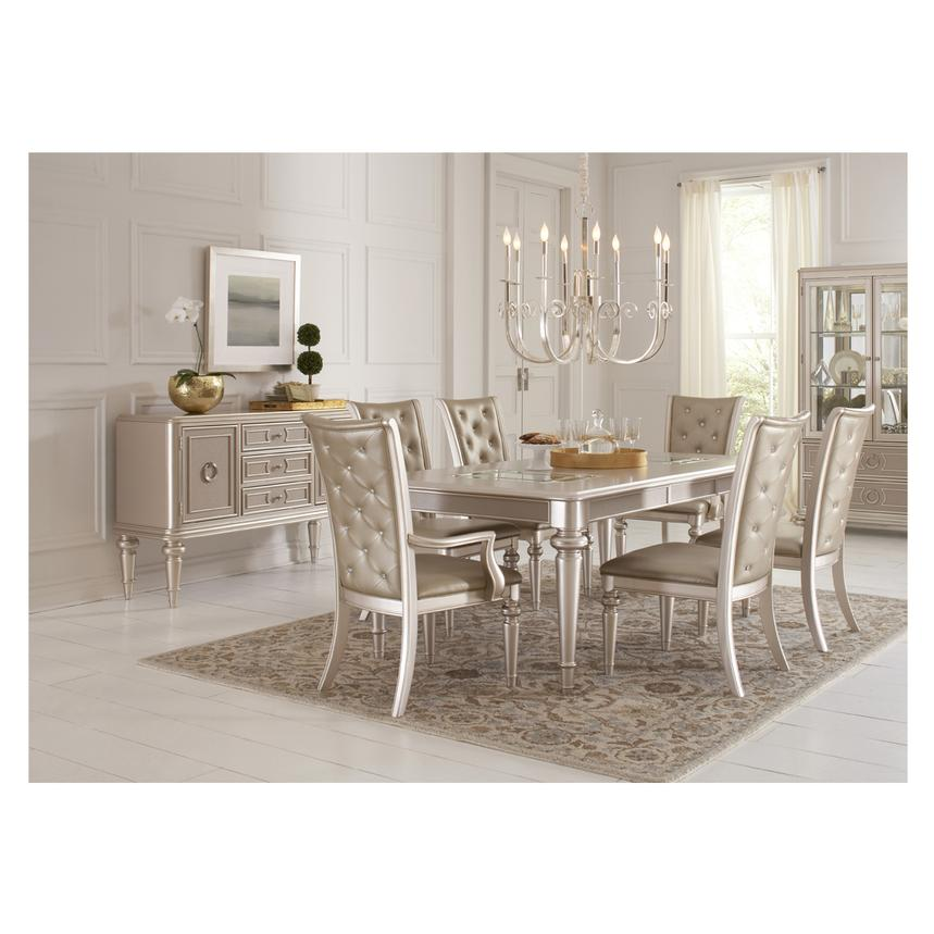 Dynasty Extendable Dining Table Alternate Image, 2 Of 7 Images.