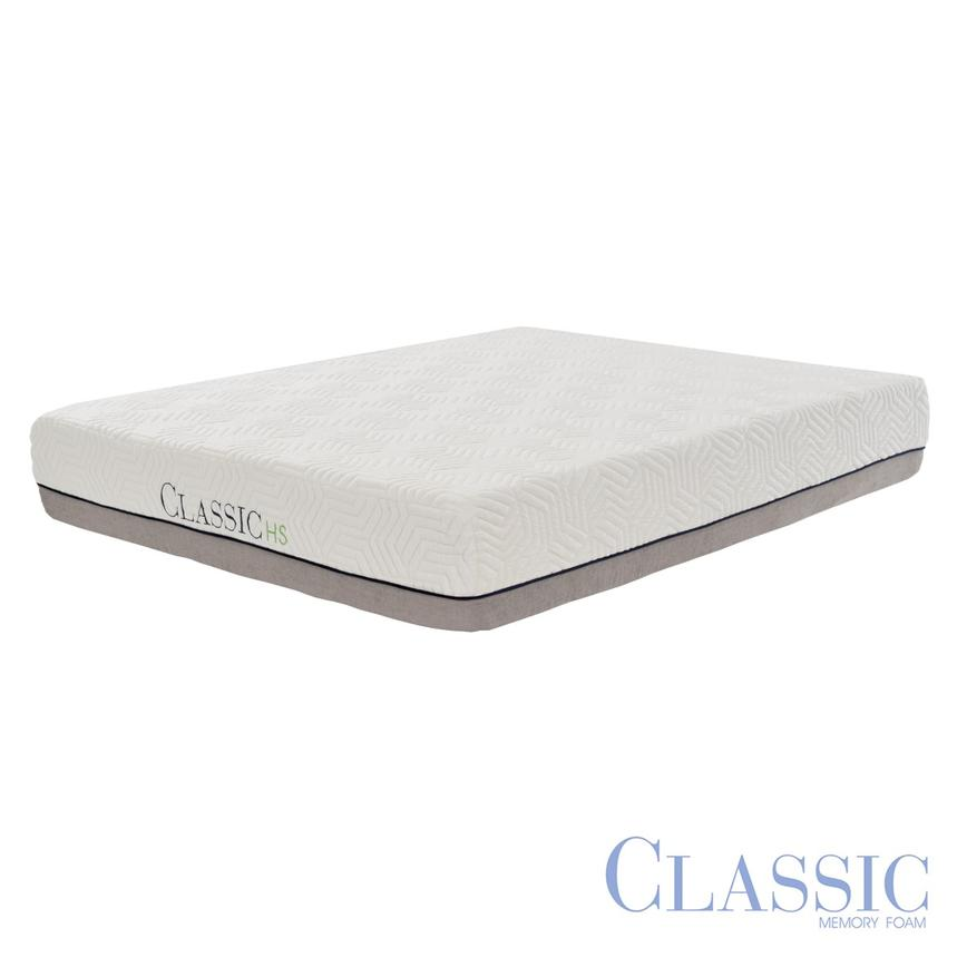Classic HS Hybrid Queen Memory Foam Mattress  main image, 1 of 4 images.