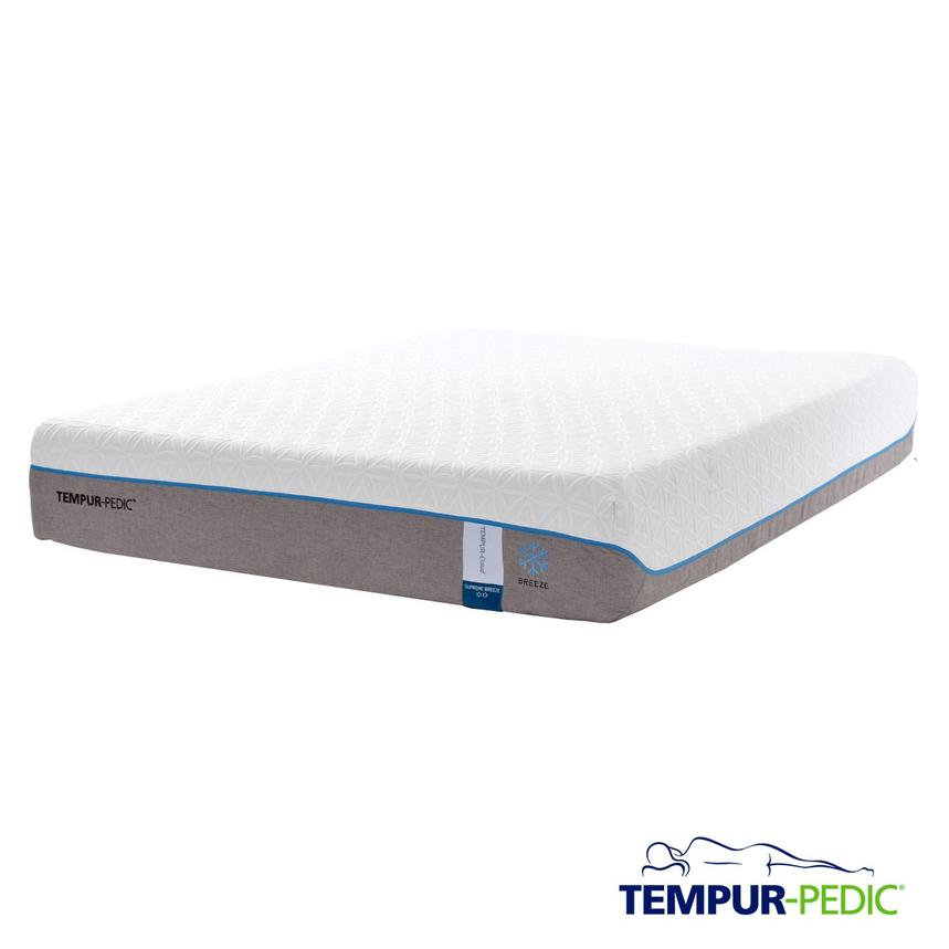 Cloud Supreme Breeze Twin XL Memory Foam Mattress by Tempur-Pedic  main image, 1 of 5 images.