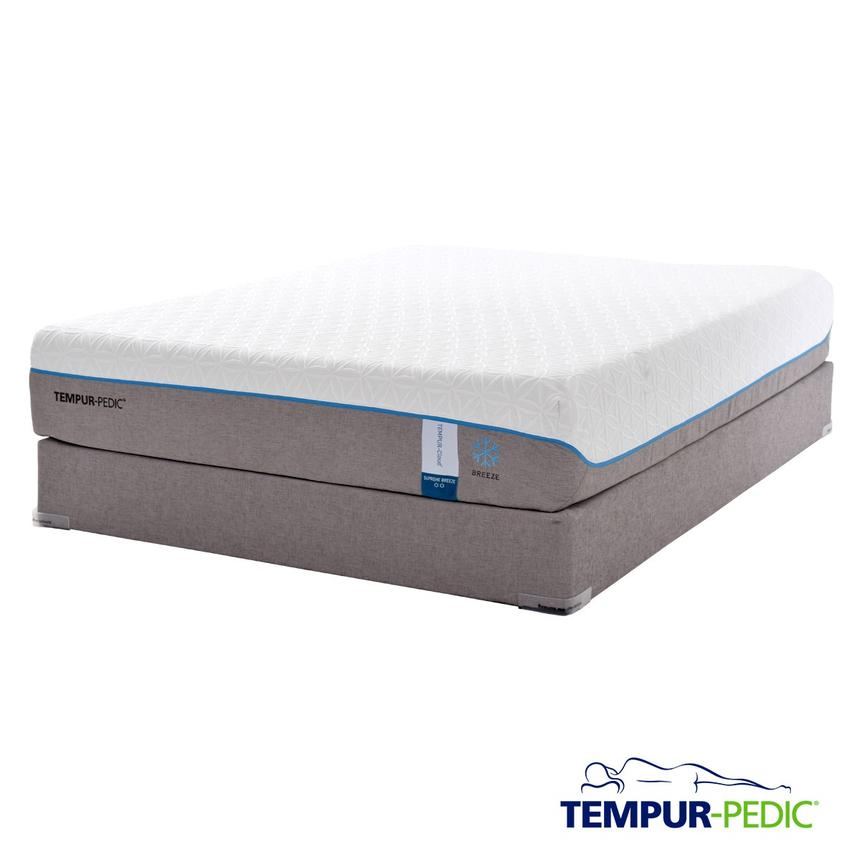 Cloud Supreme Breeze Memory Foam Twin XL Mattress Set w/Regular Foundation by Tempur-Pedic  main image, 1 of 5 images.