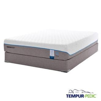 Cloud Supreme Breeze Memory Foam Twin XL Mattress Set w/Low Foundation by Tempur-Pedic