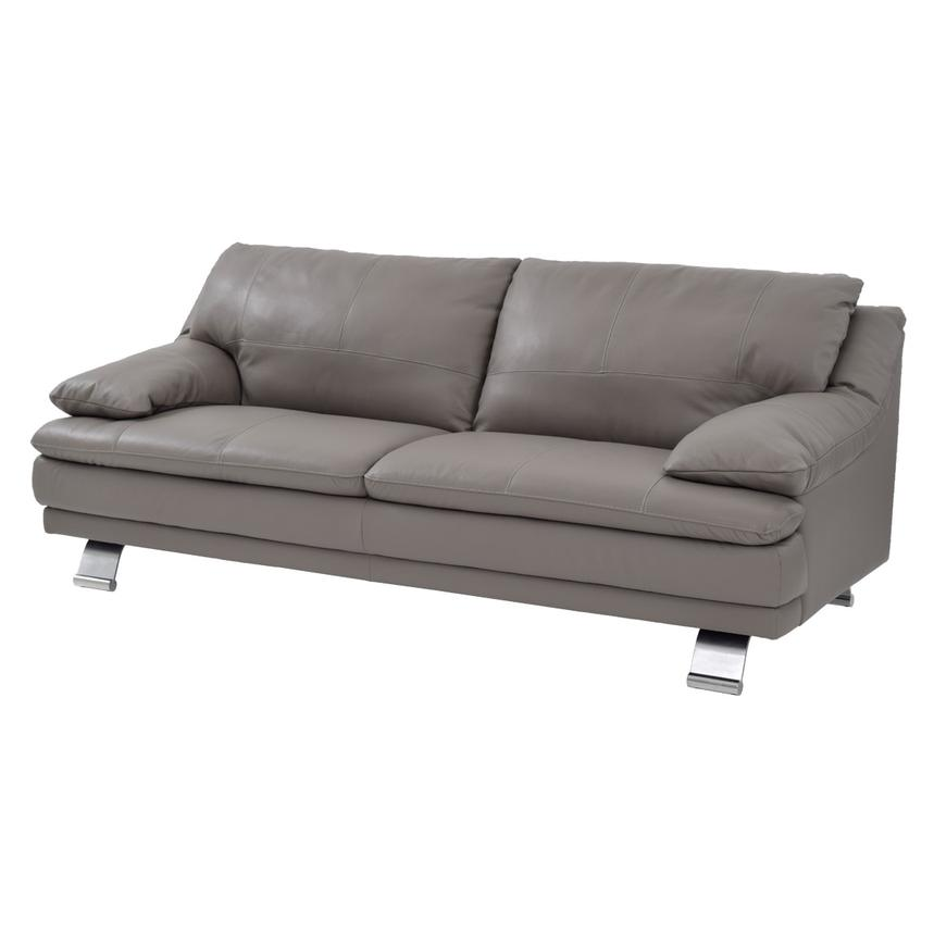 Sectional Couch Light Gray: Rio Light Gray Leather Sofa