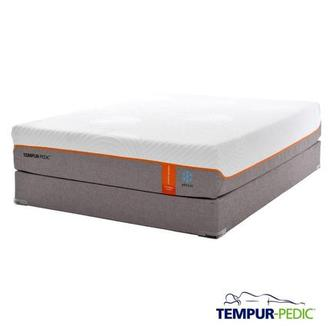 Contour Elite Breeze Memory Foam Queen Mattress Set w/Low Foundation by Tempur-Pedic
