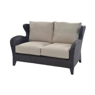 Vianca Brown Loveseat