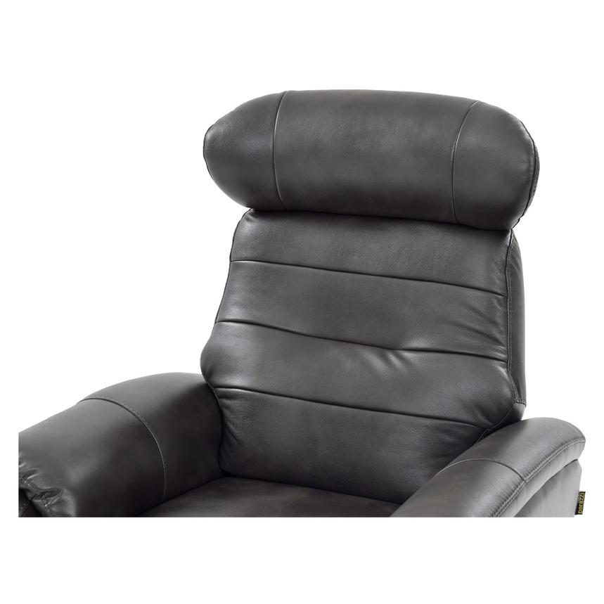 Lui Gray Power Motion Recliner  alternate image, 5 of 8 images.