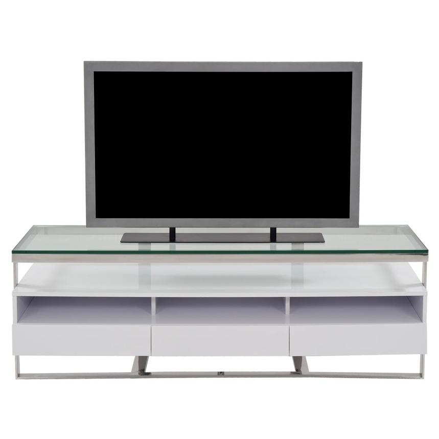 Calypso White TV Stand  main image, 1 of 5 images.