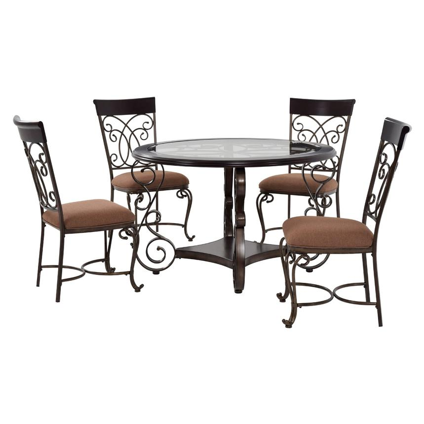 Bombay 5-Piece Casual Dining Set  main image, 1 of 12 images.
