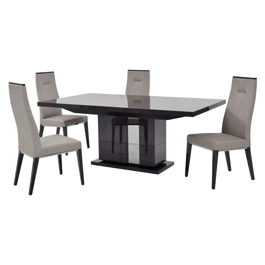 Heritage 5-Piece Formal Dining Set Made in Italy  main image, 1 of 13 images.