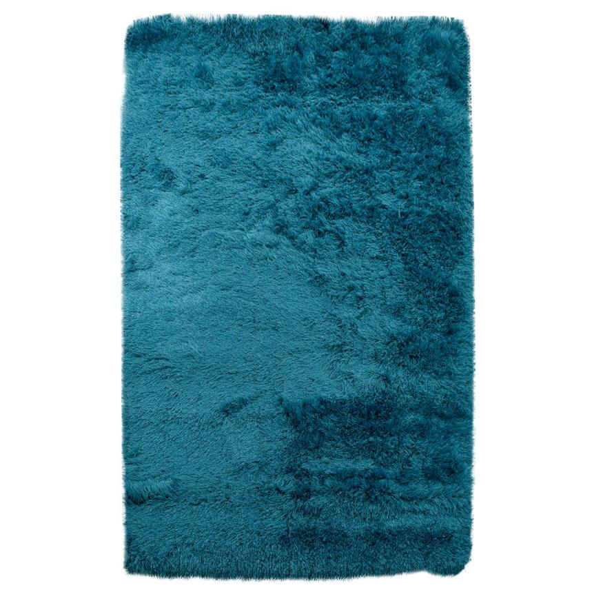 Milan Blue 5' x 7' Area Rug  main image, 1 of 3 images.