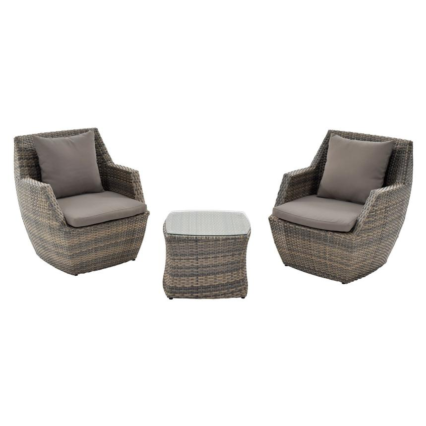 Neilina Brown 3-Piece Patio Set main image, 1 of 11 images. - Neilina Brown 3-Piece Patio Set El Dorado Furniture