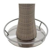 Neilina Brown 3-Piece Patio Set w/ Ice bucket  alternate image, 5 of 10 images.