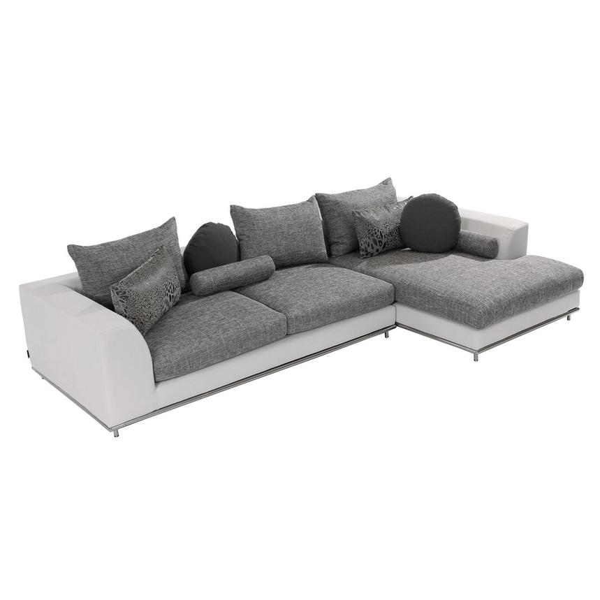 Hanna Sofa w/Right Chaise  main image, 1 of 6 images.