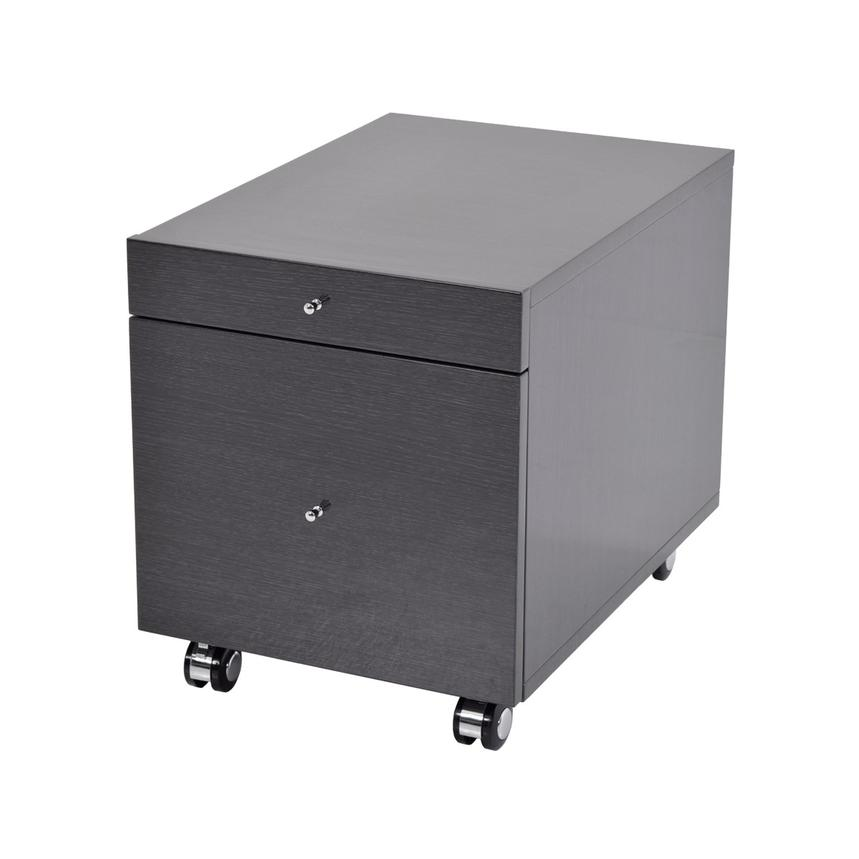 Vitra Gray Rolling File Cabinet  main image, 1 of 7 images.