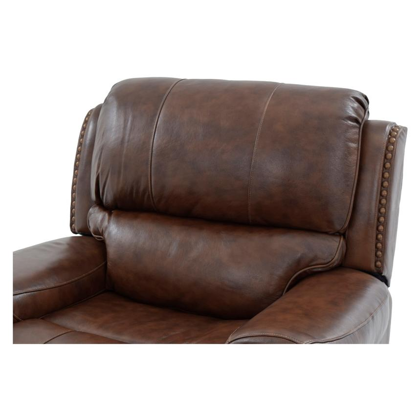 Durham Power Motion Leather Recliner  alternate image, 5 of 9 images.